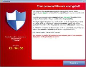 bloquer cryptolocker